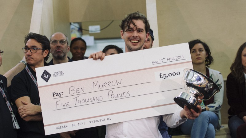 Ben Morrow Wins Coffee Masters London!