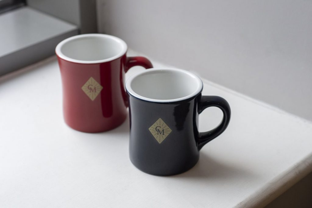 Coffee Masters customised Hario V60 and Loveramics mugs.